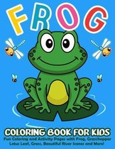 Frog Coloring Book for Kids