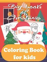 Big book of Christmas Coloring Book for kids