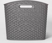 Curver XL Y-Weave Curved Bin - Room Essentials