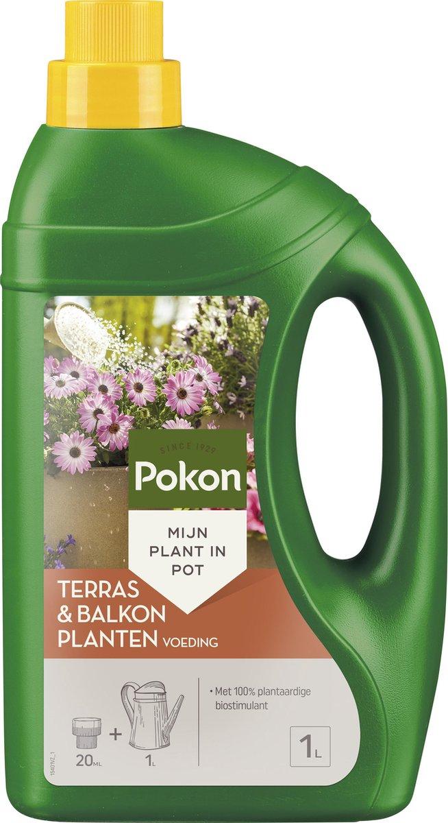 Pokon Terras & Balkon Planten Voeding - 1L