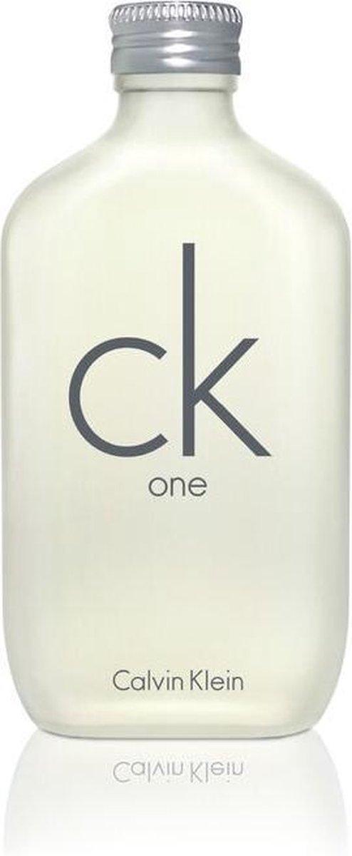 Calvin Klein One 100 ml - Eau de Toilette - Unisex
