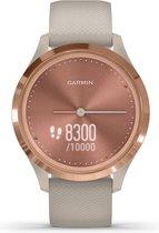 Garmin Vivomove Sport S - Smartwatch - Rose Gold/Tundra
