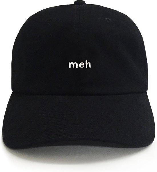 Dad Brand Pet MEH - Premium Baseball Cap - Zwart - One-Size Dad Pet Heren