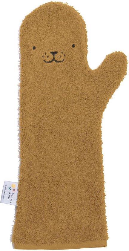 Baby Shower Glove Seal Caramel