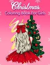 Christmas Coloring Book For Girls