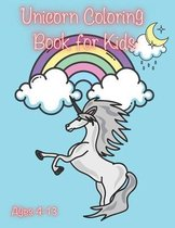 Unicorn Coloring Book for Kids Ages 4-13