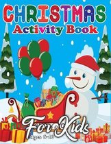 Christmas Activity Book for Kids Ages 6-10