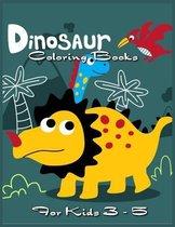 Dinosaur Coloring Books for kids 3-5