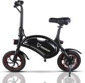 FOXSPORT - Opvouwbare fiets  -  Elektrische loopfiets - zonder pedaal - eBike 25Km/H - Dolfijnontwerp - slim - opvouwbaar - Motorvermogen: 350W - Mini-scooter