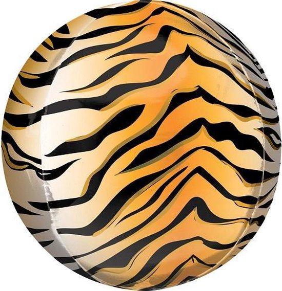 Orbz ballon tijger print