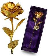 24K gouden roos - Incl. Certificaat - Cadeautip
