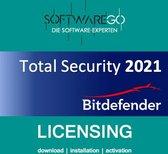 Bitdefender Total Security | 2021 | 10 apparaten |