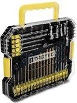 TROTEC 49-delige boor- en bitset met zeskantopname