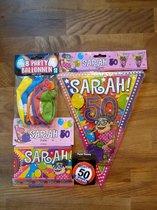 Feestpakket Sarah