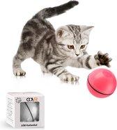 Magic Roller Ball Kattenspeeltjes - Interactief Kattenspeelgoed met LED - Automatisch Rollende Bal - USB Oplaadbaar