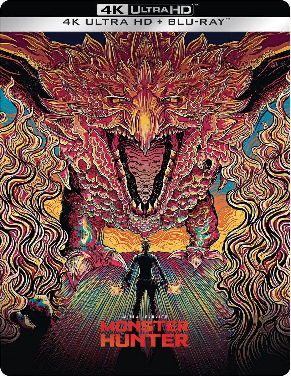 Monster Hunter (Steelbook) (4K Ultra HD Blu-ray)-