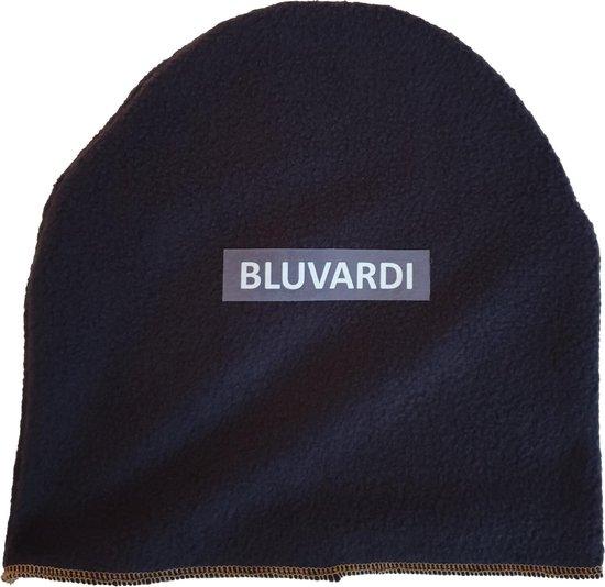 Bluvardi Fleece Muts - Blue Navy