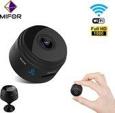 MIFOR® Smart WIFI Spy Camera - Verborgen Camera - WiFi 1080P HD - Slimme Mini Camera - Live Streamen