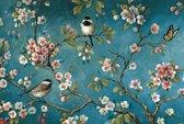 Rubye® Diamond Painting Volwassenen - Diamond Painting Kinderen - Vogels & Bloemen - 40x30cm