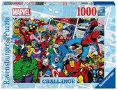 Ravensburger - Puzzle 1000 - Challenge - Marvel (10216562)