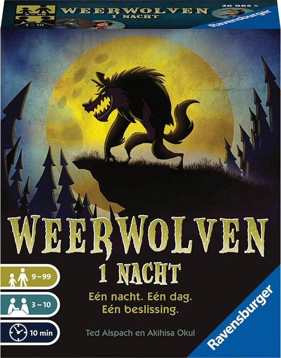 Afbeelding van het spel Ravensburger Weerwolven 1 Nacht - pocketspel