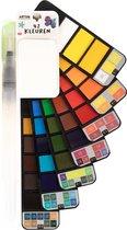 Aquarelverf Set – 42 Kleuren – Waterverf – Volwassenen – Aquarel penselen – Brush Pennen – Aquarel – Handlettering – Schilderen