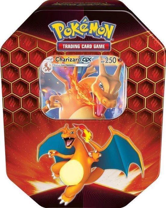Afbeelding van het spel Pokemon TCG Hidden Fates Tin Box Charizard GX