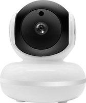 Indoor eye smarthome beveiligingscamera - 360 graden draaien - Google home & IFTTT - PTZ - Intercom - Nachtmodus - Melding via app - Wand of plafondbevestiging - SD kaart en cloud opslag -  Smart Home Beveiliging - Wit