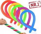 NR.1 - actie15stuk Monkey Noodles  - Fidget Toys - Simple Dimple - Resistance Band -  Monkey noodles