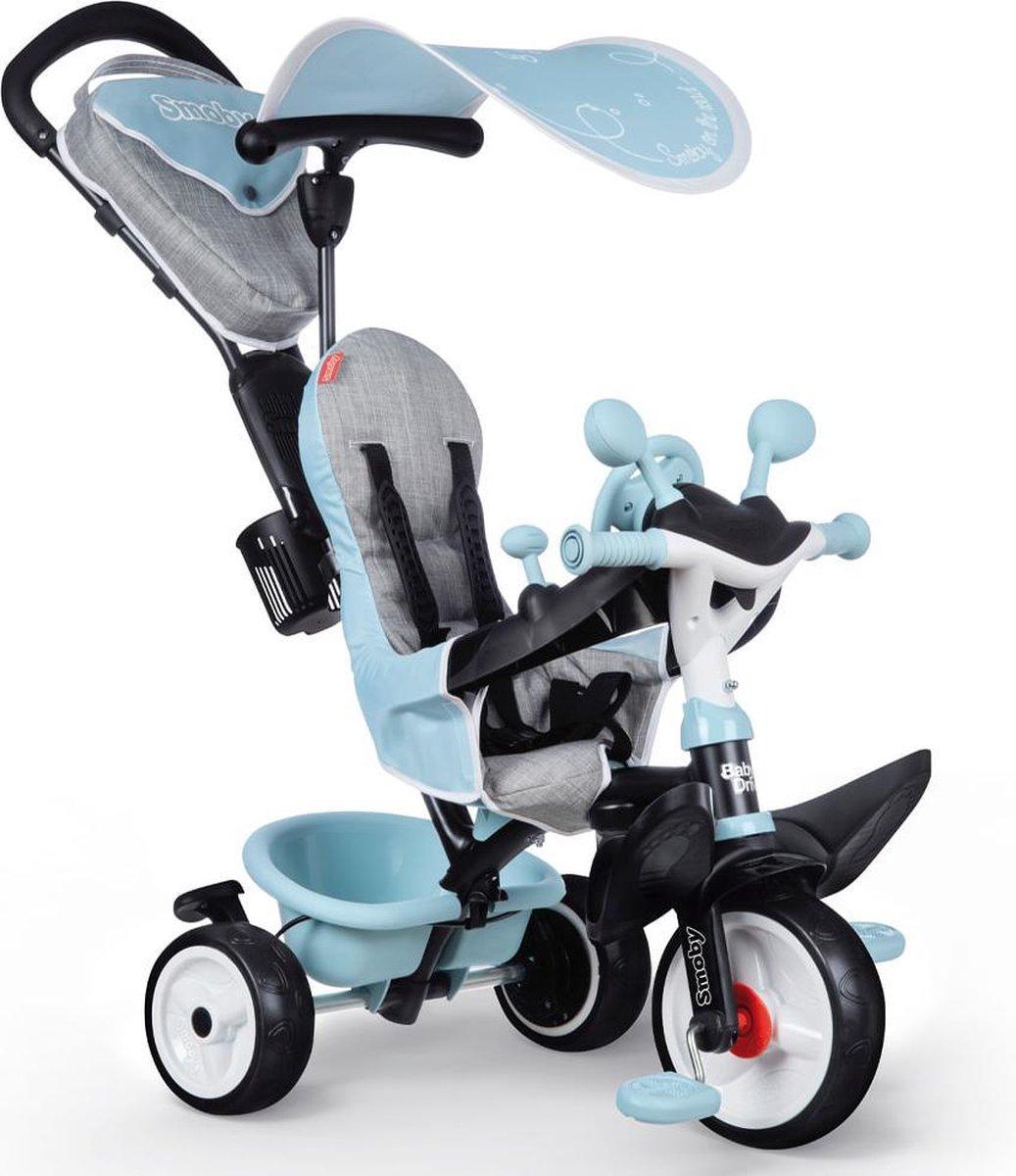 Baby Driver Plus Blauwe Driewieler