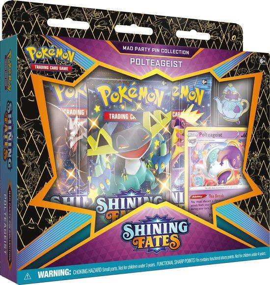 Afbeelding van Pokémon Shining Fates Mad Party Pin Box - Polteageist - Pokémon Kaarten