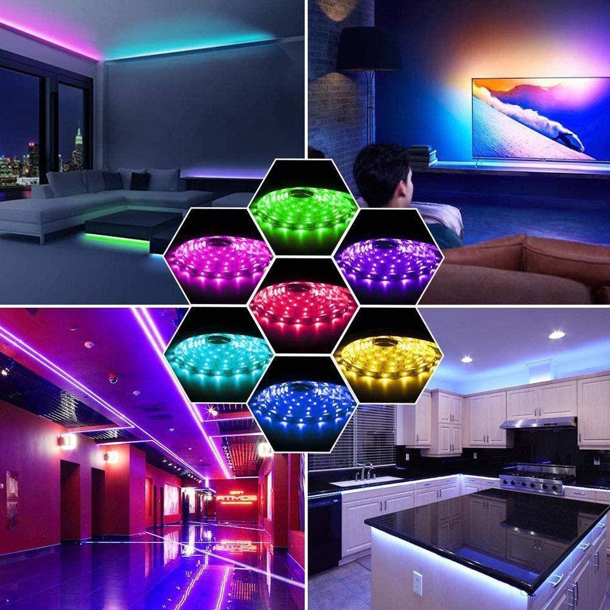 2,5 meter RGB led strip waterproof - IP65 - 30Leds/m - 12V