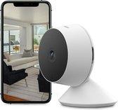Nikkei CAM2 - Slimme Beveiligingscamera - Full HD Wifi IP Camera met Beweeg en Geluidsdetectie en Nachtzicht voor binnen - Huisdiercamera - met App