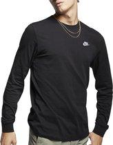 Nike Nike Sportswear  T-shirt - Mannen - zwart - wit