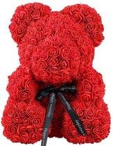 Rozen Teddy Beer 25 cm - Rose Bear - Rose Teddy -