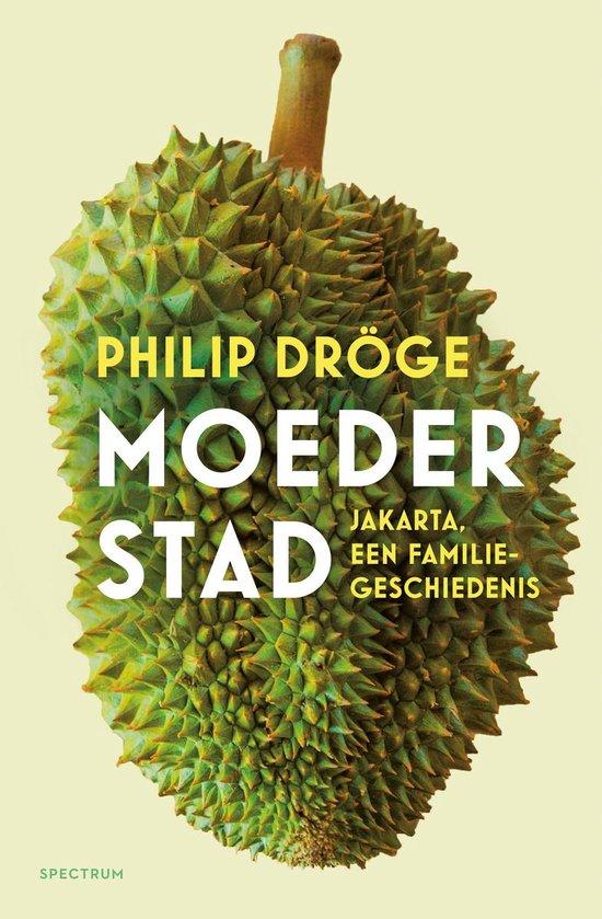 Boek cover Moederstad van Philip Dröge (Onbekend)