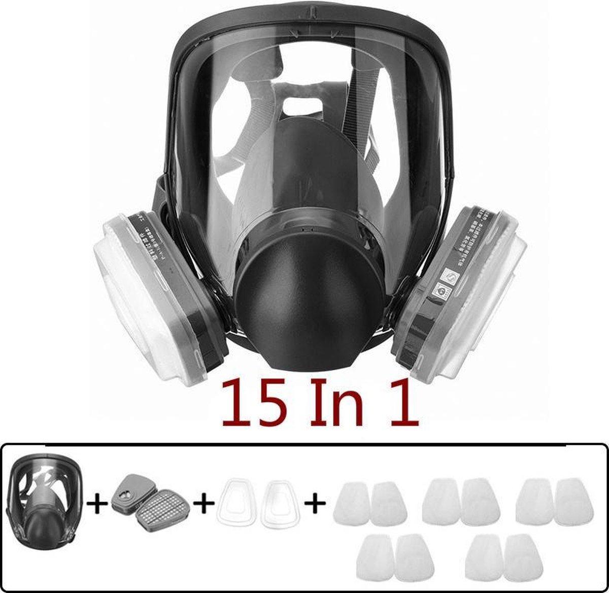 Baymate 6800 Gasmasker Volgelaatsmasker Gasmasker Schilderen Spuiten Voor 3M 6800 Gasmasker Volgelaa