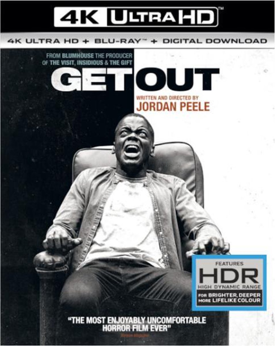 Get Out (4K Ultra HD Blu-ray)-