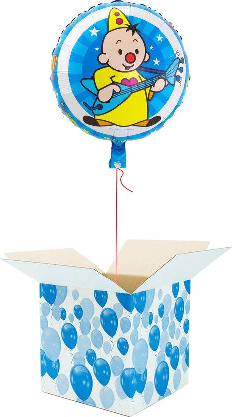Helium Ballon Verjaardag gevuld met helium - Bumba - Cadeauverpakking - Bumba Gitaar - Folieballon - Helium ballonnen verjaardag