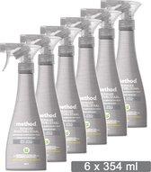 Method Staalreiniger Spray - Apple Orchard - Voordeelverpakking 6 x 354 ML