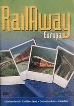 Rail away Europa Griekenland Zwitserland Denemarken Zweden