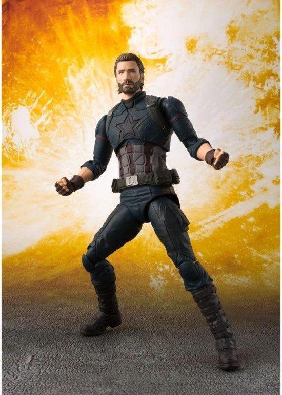 AVENGERS INFINITY WAR - Captain America Figuarts (Bandai)  - Figurine