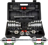 I-Wannahave Dumbell set chroom luxe - inclusief ko