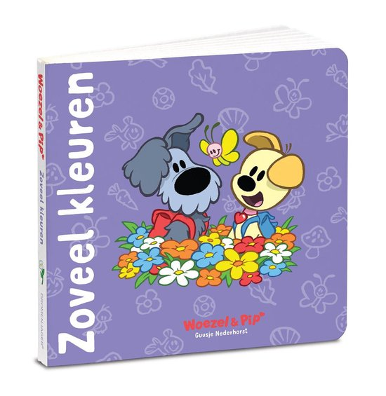Boek cover Woezel & Pip  -   Zoveel kleuren van Guusje Nederhorst (Onbekend)