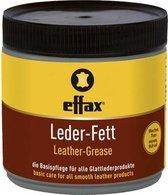 RelaxPets - Effax - Leervet - Leer Onderhoudt - Gladleer - Basisverzorging - Zwart vet - 500 ml