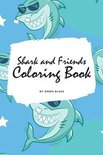 Shark and Friends Coloring Book for Children (6x9 Coloring Book / Activity Book)