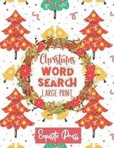 Christmas Word Search (Large Print)