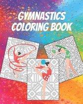 Gymnastics Coloring Book