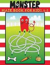 monster maze book for kids 4-8