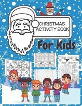 Christmas Activity Book For Kids